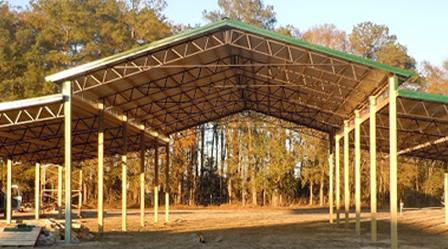Metal Roofing Pole Barns Steel Trusses Metal Buildings